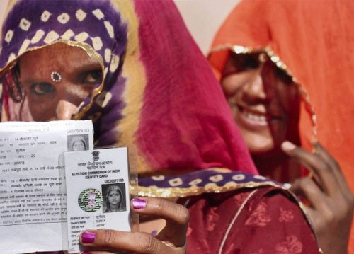 Record turn out during repolling in Rajasthan