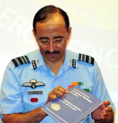 Ex-IAF chief Browne to be India's envoy in Norway
