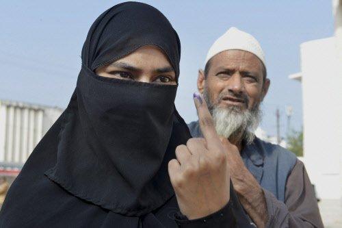 Andhra Pradesh votes for Lok Sabha, assembly