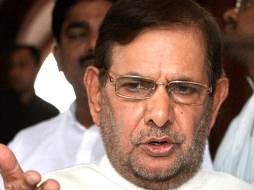 Sharad Yadav alleges use of money to influence media