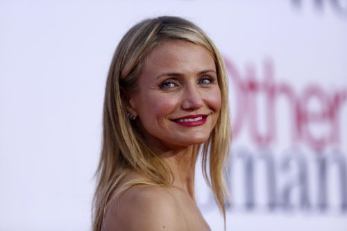 I have been with a lady, admits Cameron Diaz