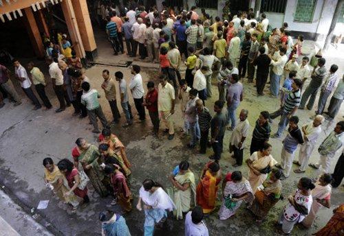 Turnout in West Bengal 82 per cent, Bihar 58 per cent