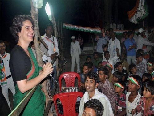 'I am Rajiv Gandhi's daughter': Priyanka's curt reply to Modi