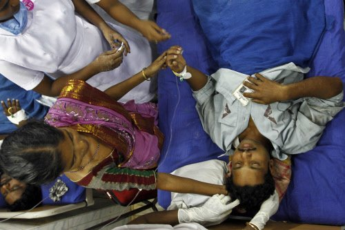 14 injured in train blasts doing fine: Doctors