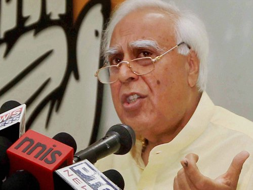 Govt to name 'snoopgate' judge before May 16: Sibal