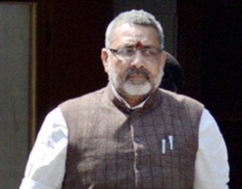 Arrest warrant against BJP leader Giriraj quashed