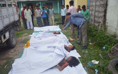Nine bodies recovered from BTADC area in Assam