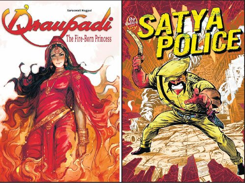 Free comic book downloads to beckon old fans