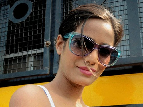 Poonam Pandey detained for 'indecent behaviour'