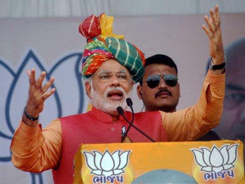 Modi dares EC to act against him