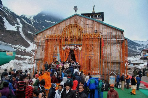 Kedarnath temple reopens a year after floods