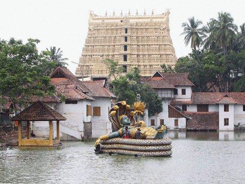 Excavation stopped at Padmanabhaswamy temple