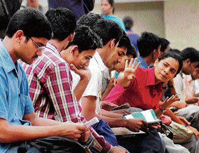 Pre-medical test paper tough, students say