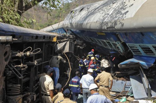 Train derailment: Death toll goes up to 21; traffic resumes