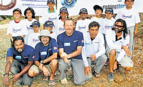 Angling for mighty mahseer
