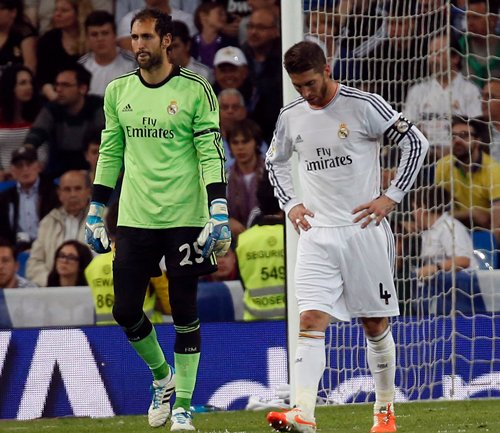 Real fail to cash in on Atletico slip