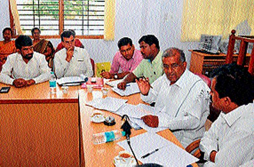 Don't succumb to pressure, GTD to officials
