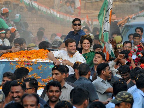 Gandhi dynasty battles to hold seat in family bastion
