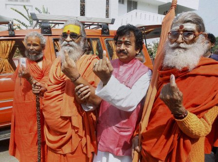 Millions vote in penultimate round of Lok Sabha battle