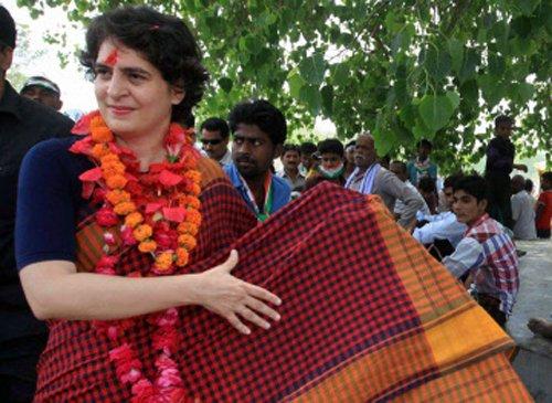 Priyanka's secretary asked to leave Amethi
