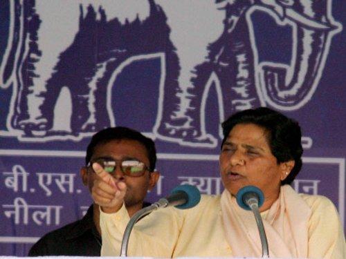 BJP, SP enacting drama in Varanasi for poll gains: Mayawati
