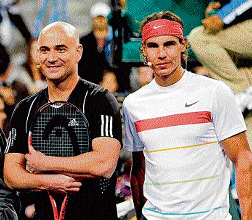 Nadal the best ever, says Agassi