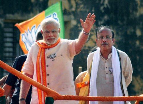 No more a political pariah: Modi