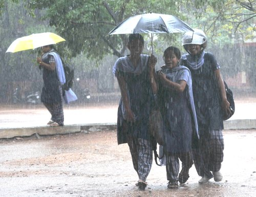 Heavy rains forecast in seven districts in Karnataka