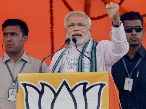Modi plays another caste card in Ghazipur