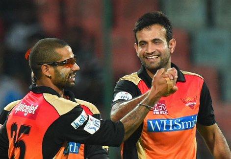 Sunrisers beat Daredevils by 8 wickets via D/L method