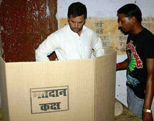 No case against Rahul on violating voting secrecy: CEC