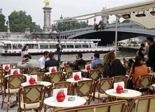 French restaurant fines diners who don't finish their food