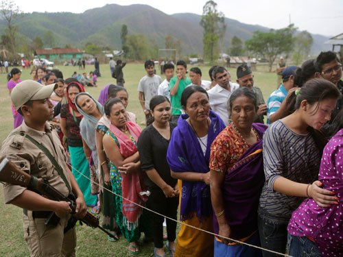 Re-poll ordered at 11 UP polling booths