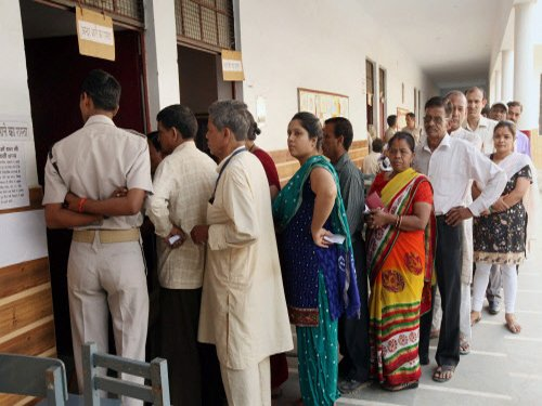 Voters come out in large numbers during last phase of LS poll