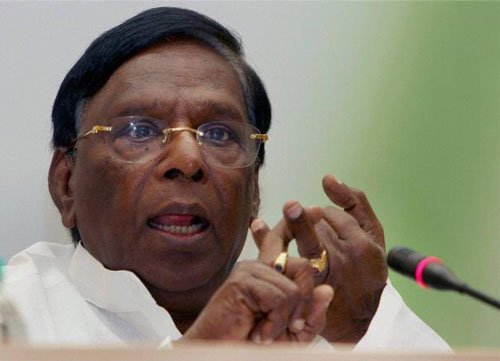 Congress will form govt with third front support: Narayanasamy