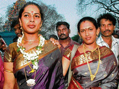 Transgenders experience 'marriage' at this festival