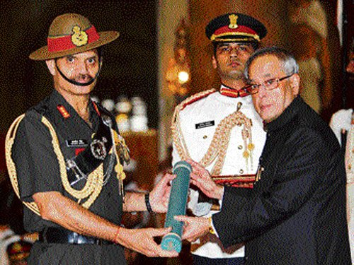 Defence Ministry recommends Suhag as Army chief