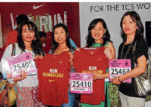 Keeping track of running apparels