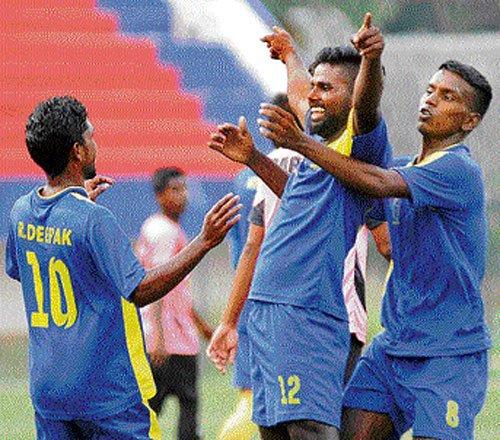 Karthik goal takes ADE to victory