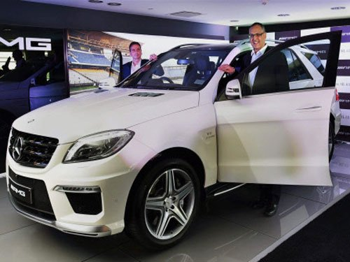 Mercedes launches SUV ML 63 AMG at Rs.1.5 crore