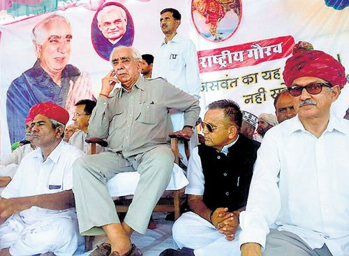 Jaswant rules out returning to BJP, says it'll be betrayal of people