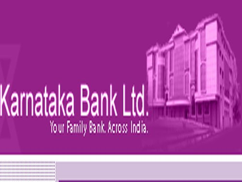 Karnataka Bank Q4 net up 21%
