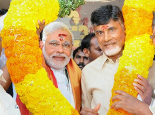 TDP ahead in Seemandhra Assembly polls; Chandrababu leads