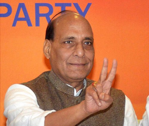 Role of senior BJP leaders to be decided collectively:Rajnath
