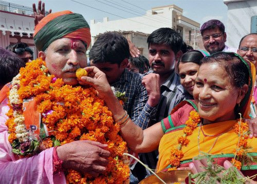 Clean sweep by the BJP in Rajasthan