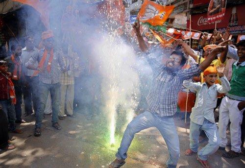 BJP decimates SP, Congress, BSP, RLD in UP