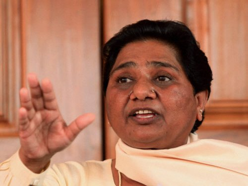 Mayawati's BSP bites dust in UP