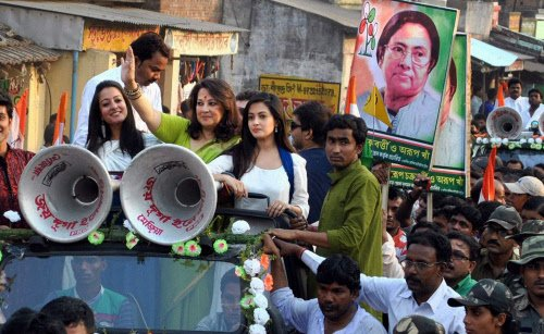 Star candidates steal the show in Bengal LS polls