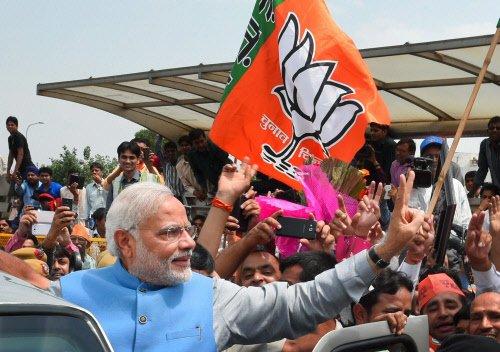Modi win stops short of breaking record