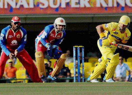 Late flourish gives Bangalore 5-wkt win over Chennai